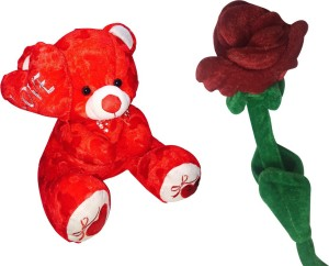 Priyankish Exclusive Teddy Soft Toy Combo  - 12.5 inch