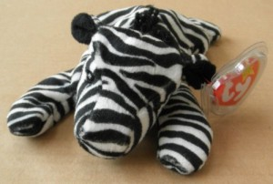 2c4d039bf7c Smartbuy Ty Beanie Babies Ziggy The Zebra Animal Plush 6 Inches ( Black )