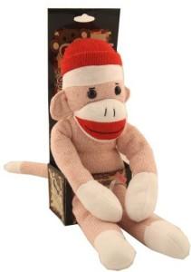 Nostalgic Images The Original Sock Monkey Pink