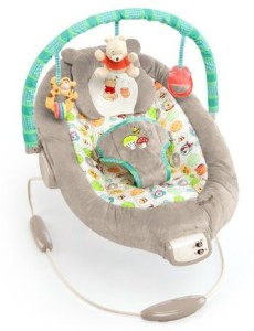 Disney Baby Winnie The Pooh Bouncer, Dots and Hunny Pots  - 25 inch