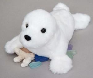 Douglas Cuddle Toys Snowflake Seal