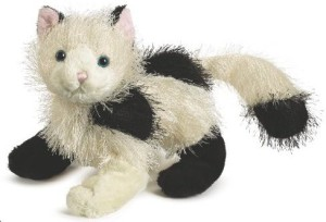 Webkinz Plush Animal Domino Cat