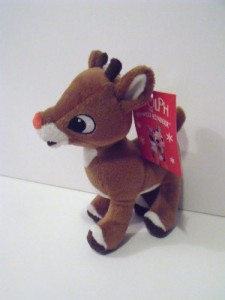 Prestige Rudolph The Red Nosed Reindeer Movie Plush Character