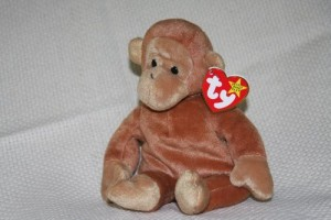 Ty Bongo The Monkey Teenie Beanie Babies