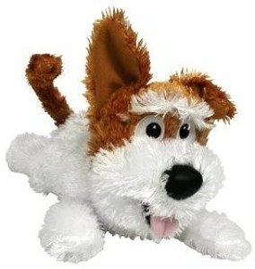 Gifts and Gadgets Chuckle Buddies Motion Activated Rolling Laughing Dog