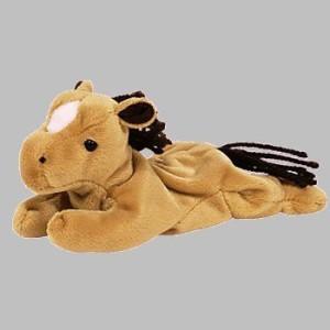 Ty Beanie Babies Der The Horse Retired