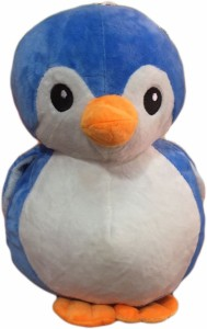 Cuddles Cute looking penguin blue  - 22 cm