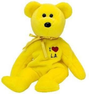 Ty Beanie Babies La (Los Angeles) Bear