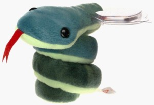 bf0dc6cee94 Ty Beanie Ba Hissy The Snake ( Green )