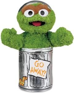 Gund Sesame Street Oscar The Grouch Stuffed Animal  - 25 inch