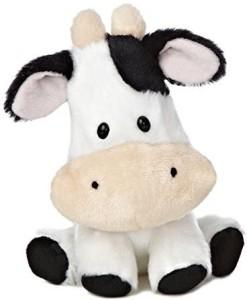 Aurora World Wobbly Bobblee Cow Plush6