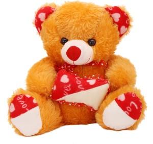 Arihant Online Brown Chunky Teddy Bear  - 6 inch