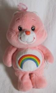 Play Along Care Bears 20Th Anniversary Cheer Bear 8 Inch