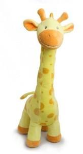 Beverly Hills Teddy Bear Company Plush Giraffe In Yellow