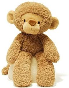 Gund Fuzzy Monkey Stuffed Animal  - 25 inch