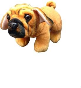 Vrv Standing Pug Soft Toy 18 Cm Multicolor Best Price In India Vrv