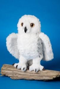 Douglas Cuddle Toys Plush Lil Phantom Snowy Owl 9