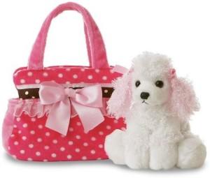 Fancy Pals Purse Pet Carriers Fancy Pink Polka Dot Fancy Pals Miniplush Purse Pet
