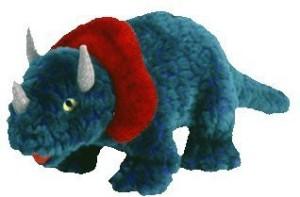 TY Beanie Babies 1 X Hornsly The Dinosaur