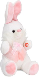 Ultra Musical Bunny Rabbit Soft Toy Pink  - 28 cm