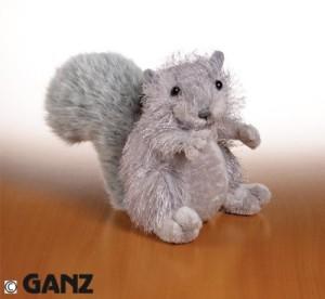 Webkinz Plush Animal Squirrel