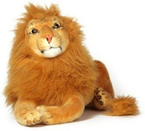 speoma stuffed king lion soft toy (49 cm)  - 6 cm