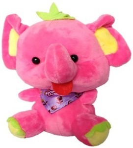 485065bbb4 Chinmayi Cute Small Elephant Soft Toy High Quality 20 cm Pink Best ...