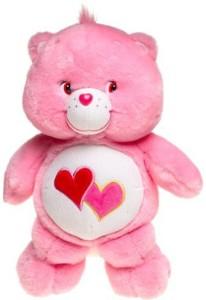 47d7a73a242 Care Bears Glowalot Lovealot Bear ( Pink )