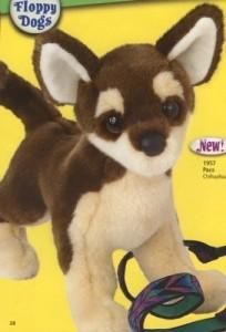 Douglas Cuddle Toys Paco Chihuahua  - 20 inch