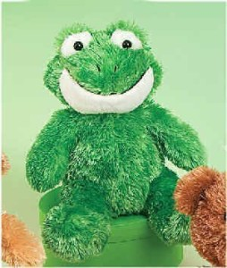 Princess Soft Toys Soft Crew Frog 6