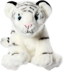 Cuddles White Tiger Sitting  - 40 cm