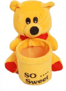 Oril Sweet Pen Stand Teddy  - 8 inch