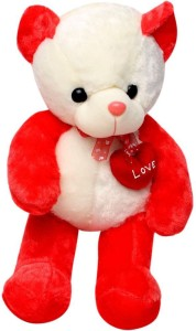 Tickles Teddy With I Love You Heart  - 51 cm