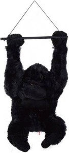 S S Mart Black Cute Hanging Gorilla Animals Toy  - 50 cm