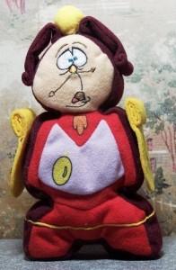 Disney Mini Bean Bag ~ Cogsworth 7