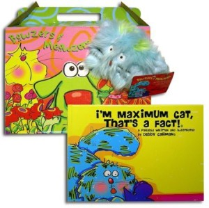Bowzers and Meowzers Faux Paw What'S In The Box? I'M Maximum Catthat'S The Fact