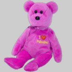 TY Beanie Babies Philadelphia The Bear (I Love Philadelphia