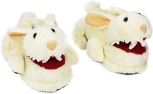 Toy Vault Rabbit With Big Pty Teeth Slippersfits Ages 14+