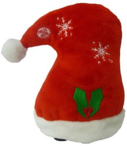 BZB Goods Singing Walking Christmas Hat Musical Plush Toy with Motion  - 20 inch
