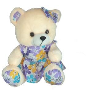Cuddles Frock Teddy  - 30 cm