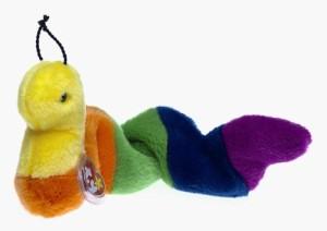 Ty Beanie Buddies Inch Inchworm