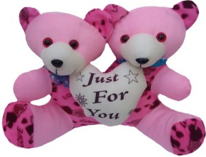 Aparshi Cute Just For You Teddy Couple  - 30 cm