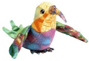 TY Beanie Babies Nectar The Hummingbird