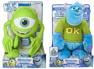 SpinMaster Disney Monsters University My Scare Pal Mike Plush