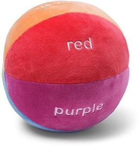 Gund Color Fun Educational Stuffed Rattle Ball  - 24 inch