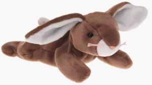 TY Beanie Babies Ears The Bunny Rabbit