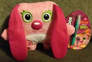 The Bridge Direct Inkoos Easter Pink Bunny Mini Plush