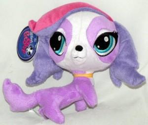Littlest Pet Shop 6 Inch Plush Pet Zoe Trent Dog