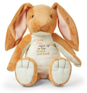 Kids Preferred Guess How Much I Love You: Nutbrown Hare Floppy Bunny Plush  - 20 inch