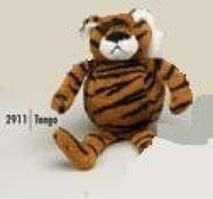 PurrFection Purrfection Tango Bouncy Buddy Tiger Plush